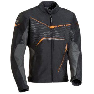 Blouson Ixon Slash noir orange