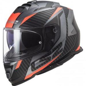 Casque Ls2 Storm racer orange