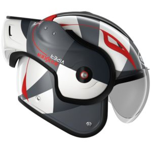 Casque Roof viper rouge