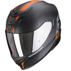 Casque Scorpion Exo 520 Laten Noir Mat Orange