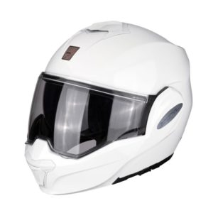 Casque Scorpion Exo tech Blanc