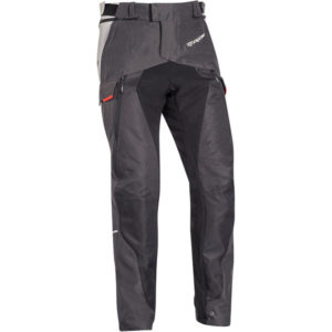 Pantalon Ixon Balder noir gris rouge